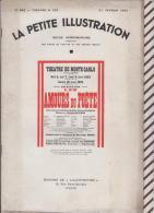 La Petite Illustration N°566 27 Fevrier  1932 AMOURS DU POETE BLUM DELAGUYS Musique SCHUMANN - Theatre
