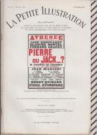La Petite Illustration N°565 20 Fevrier  1932 PIERRE OU JACK ? FRANCIS DE CROISSET - Theatre
