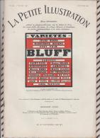 La Petite Illustration N°560  16janvier 1932  BLUFF DELANCE - Theatre