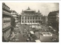 Cp, 75, Paris, Place De L'Opéra - Francia