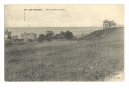 Cp, 76, Quiberville, VUe Prise Des Champs, Voyagée 1911 - Autres Communes
