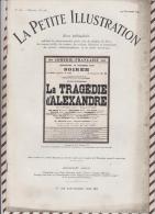 La Petite Illustration N°556  19 Decembre  1931 LA TRAGEDIE D'ALEXANDRE SIMON - Theatre