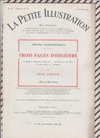 La Petite Illustration N°543  10 Septembre 1931 TROIS PAGES HISTOIRE RAVAILLAC ILE ELBE COUP ETAT DU 2 DECEMBRE ARNAUD - Theatre