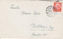 DR 469 EF Auf Brief Mit Stempel: Bad Steben 31.5.1933 - Duitsland