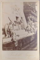 KABINETTFOTO Um 1890, Venedig, Venezia, Grab, Tomba Di Canova - Antiche (ante 1900)