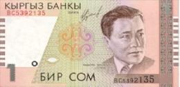 Kyrgyzstan - 1 Som - 1999 - P 15 - Unc - Kirgisistan