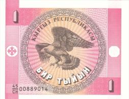 Kyrgyzstan - 1 Tyiyn - 1993 - P 1 - Unc - Kirgisistan