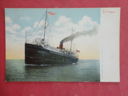 Transport--Ships--Steamer Virginia--not Mailed--PJ 207 - Dampfer