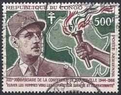 De Gaulle Oblitéré - Congo - Brazzaville
