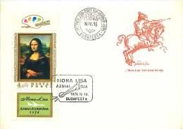 1974  Tableau «Mona Lisa» De L. Da Vinci  MiNr 2940A - FDC