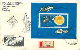 1965  Evolution Des Voyages Spatiaux  Bloc-feuillet MINr Block 52A - FDC