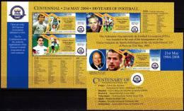 NEVIS. 100 FIFA. Football Soccer. SH+SS MNH** - World Cup