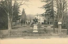 13 - AIX-en-PROVENCE - Jardin Public (Edit. Carle) - Aix En Provence