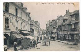 Cpa 27 Cormeilles Rue De Malou - Pont Audemer