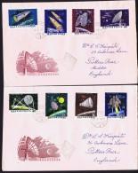1964  Fusées Et Satellites  MiNr 1991-8A - FDC