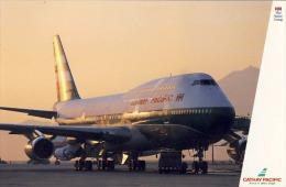 Airplane Avion Cathay Pacific  Used   Hong Kong 1991 - 1946-....: Moderne