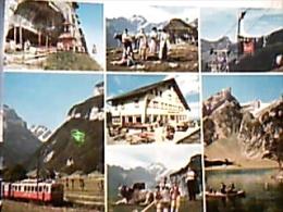 SUISSE  Switzerland Alpstein Ebenalp Altmann TRAIN  TRENO FUNIVIA  VUES N1980 EG522 - ZG Zoug