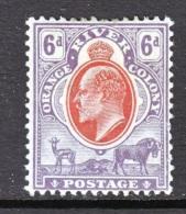 Orange River Colony  67  * - Orange Free State (1868-1909)