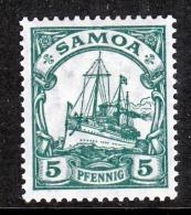 Germany Samoa 71     *  Wmk - Colony: Samoa