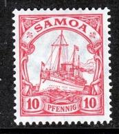 Germany Samoa 72     *  Wmk - Colony: Samoa