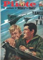 PILOTE  N° 412  -  Déssin: THOS   -  SEPTEMBRE  1967 ( TANGUY ET LAVERDURE ) - Pilote