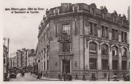 CPA - Montluçon - Hôtel Des Postes Et Boulevard De Courtais - Montlucon