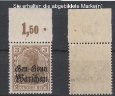 Dt.Post Polen,7b,OR P,xx,gep.(3571) - Besetzungen 1914-18