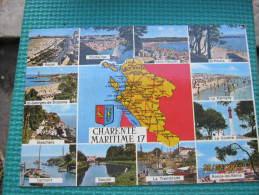 Charente Maritime - Cartes Géographiques