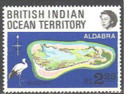 Océan Indien : Yvert N°31**; MNH; Oiseaux; Birds; Vögel; Ibis Sacré - Territoire Britannique De L'Océan Indien