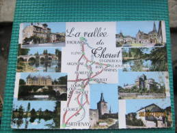 La Vallee Du Thouet - Cartes Géographiques