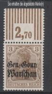 Dt.Post Polen,7a,OR W,xx  (3571) - Besetzungen 1914-18