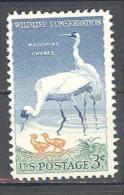 Etats-unis: Yvert N°612B**; MNH; Oiseaux; Birds; Vögel; Grues Du Texas - United States