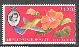 Trinite: Yvert N°185**; MNH; Oiseaux; Birds; Vögel; Oiseau Mouches - Trinidad & Tobago (1962-...)