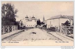 ETHE ..-- VIRTON ..-- La Rue Perdue . 1911 Vers ETTERBEEK ( Mme Achille DE SAINT - HUBERT ) . Voir Verso . - Virton