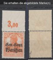 Dt.Post Polen,9b,OR P,xx,gep  (3571) - Besetzungen 1914-18