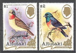 Aitutaki: Yvert N° 316/7**; MNH; Oiseaux; Birds; Vögel - Aitutaki