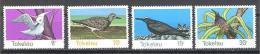 Tokelau: Yvert N°57/60**; MNH; Oiseaux; Birds; Vögel - Tokelau