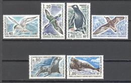 T.a.a.f.: Yvert N°55/60**; MNH; Oiseau;birds; Vögel; Sterne; Petrel; Cormoran; Manchots; Otarie; Phoque - Französische Süd- Und Antarktisgebiete (TAAF)