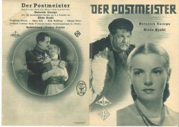 """Allemagne: Livret De Présentation Du Film """"Der Postmeister""""; Voir Les 2 Scans - Programmes"""