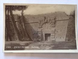 FOTO  CARTOLINA   ASCOLI PICENO  FORTEZZA   22406  VIAGGIATA NEL 1934 - Ascoli Piceno