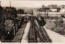 Miniature Railway Photo Romney Hythe & DYMCHURCH Loco Train Old Postcard Image - Reproductions