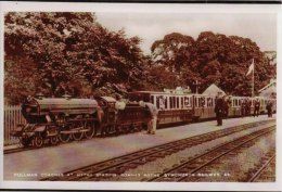 Miniature Railway Photo Romney HYTHE & Dymchurch Pullman Train Coaches Loco - Reproductions