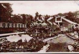 Miniature Railway Photo Romney HYTHE & Dymchurch 9 Winston Churchill Loco - Reproductions