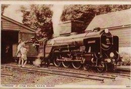 Miniature Railway Photo Romney HYTHE & Dymchurch 8 Hurricane Pacific Loco - Reproductions