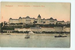 BUDAPEST : Kiralyi Varpalota. 2 Scans. - Hongrie
