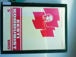ESTLAND Estonia Estonie Magazin Estonian Communist 1985 No 5 - Books, Magazines, Comics
