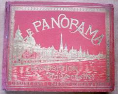 """Album """"Le Panorama 1900 Exposition Universelle Paris"""" 466 pages"""