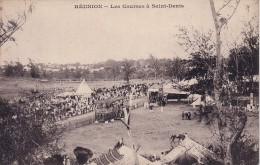 LA REUNION - LES COURSES HIPPIQUE A ST DENIS - CARTE NEUVE. - Saint Denis