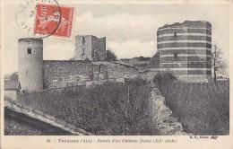 Trévoux 01 - Ruines Château Féodal - Editeur BF - Trévoux
