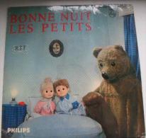 DISQUE Vinyle 45T BONNE NUIT LES PETITS (RTF) Claude Leydu - Enfants
